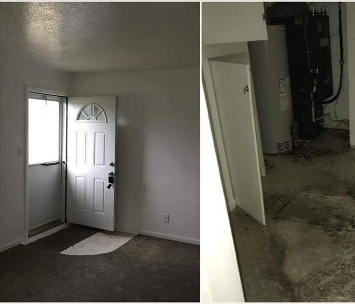 Water Damage in Waterford, MI  Before