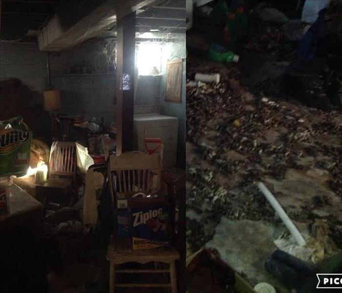 Animal Excrement/Hoarder BioHazard Cleaning in Lincoln Park, MI  Before