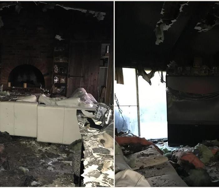 Fire Damage & Contents Cleaning in Oak Park, MI Before