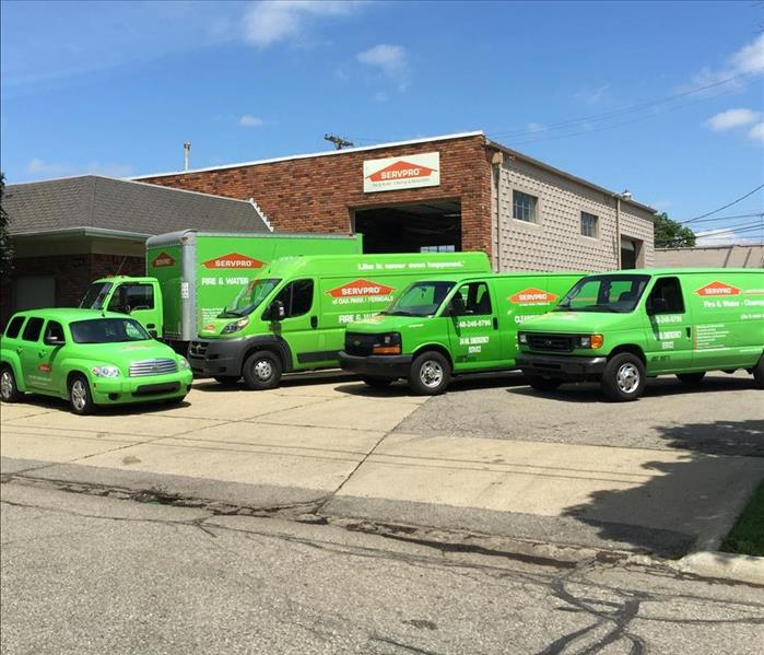 SERVPRO of Oak Park/Ferndale Fleet