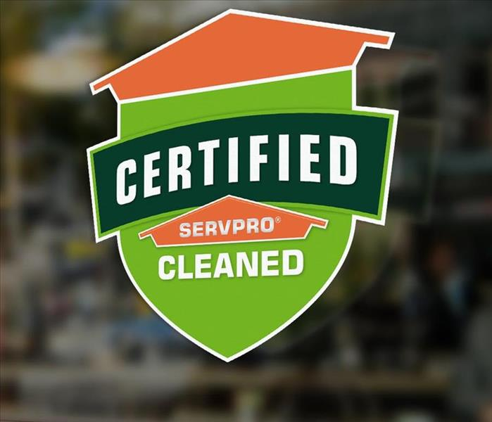 SERVPRO logo for certified clean