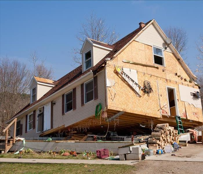 Storm Damage It's a Bird, it's a Plane, No, it's a HOUSE! How to Survive a Tornado